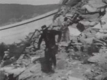 Zorro Rides Again--Pacoima Dam