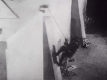 Zorro Rides Again--wall climb