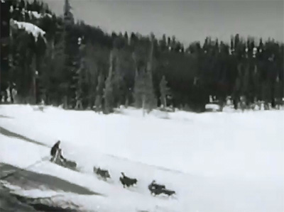 Canadian Mounties vs. Atomic Invaders--dogsled