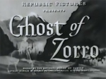 Ghost of Zorro--titles