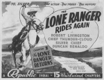 Lone Ranger Rides Again--title card copy
