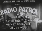 Radio Patrol--titles