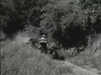 Secret Agent X-9 2--car chase