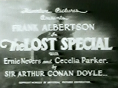 The Lost Special--titles
