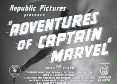 Adventures of Captain Marvel--titles
