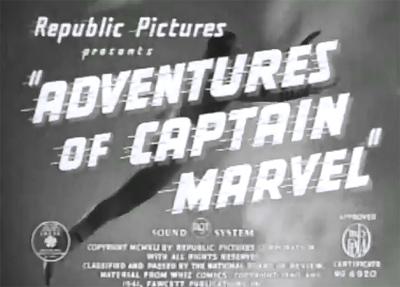 Adventures of Captain Marvel--titles