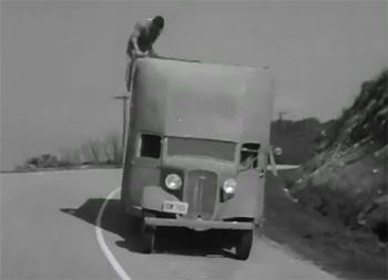 Adventures of Captain Marvel--truck