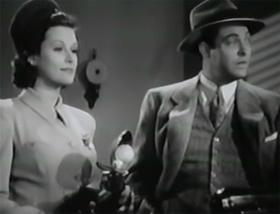 Gang Busters--Irene Hervey and Richard Davies