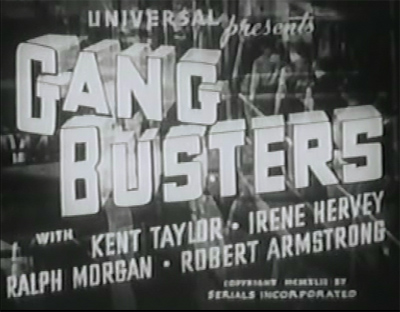 Gang Busters--titles