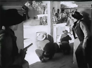 James Brothers of Missouri--ambush tableau
