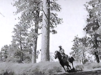King of the Royal Mounted--horseback chase