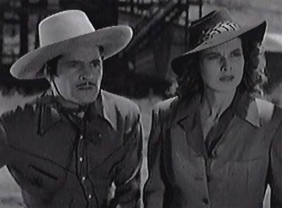 King of the Texas Rangers--Duncan Renaldo and Pauline Moore