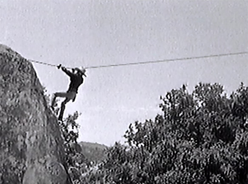 King of the Texas Rangers--rock climb