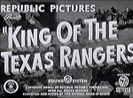King of the Texas Rangers--titles