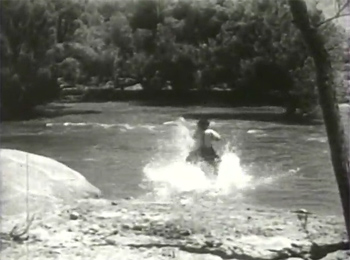 Overland Mail--river rescue