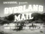 Overland Mail--titles