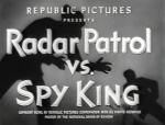 Radar Patrol vs Spy King--titles