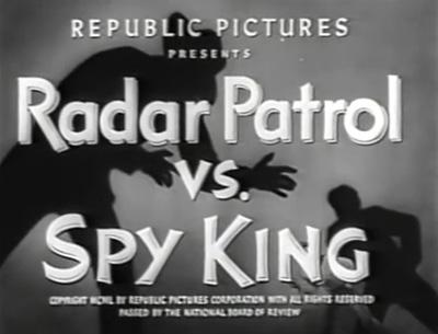 Radar Patrol vs Spy King--titles