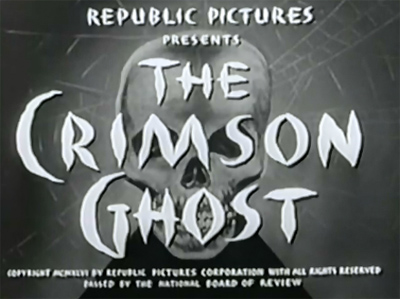 The Crimson Ghost--titles