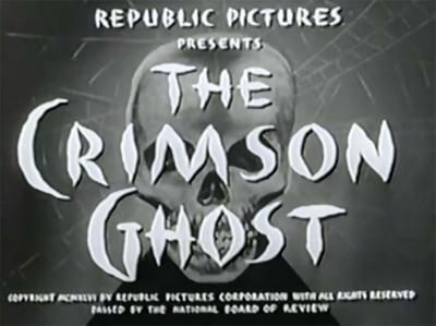 The Crimson Ghost--titles