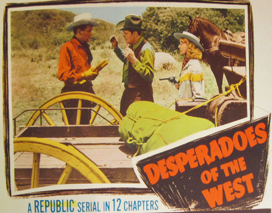 Edmund Cobb--Desperadoes of the West