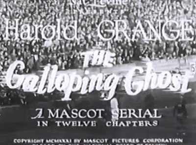 Galloping Ghost--titles