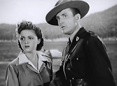 King of the Mounties--Peggy Drake and William Bakewell