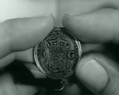 Raiders of Ghost City--coin clue