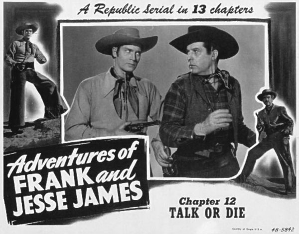 George J. Lewis--Frank and Jesse James