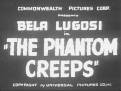 Phantom Creeps--titles