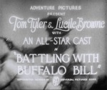 Battling with Buffalo Bill---titles