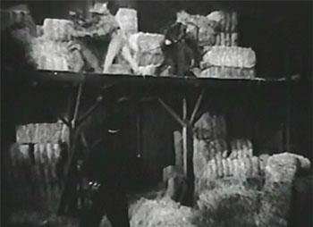 White Eagle--barn fight