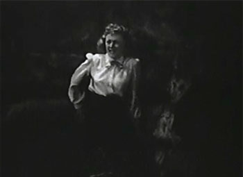 White Eagle--Dorothy Fay in puma cave