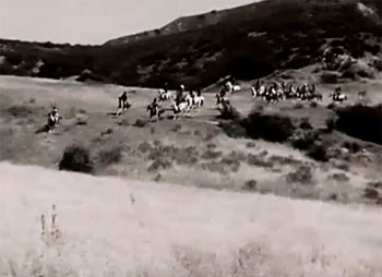 Fighting With Kit Carson--riders and scenery 1