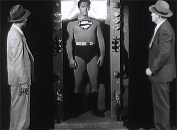 Atom Man vs. Superman--Superman under main arc