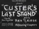 Custer's Last Stand--titles