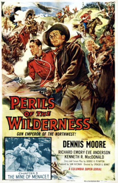 Perils of the Wilderness--poster