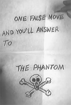 Phantom of the West--note