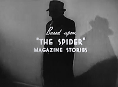 The Spider Returns--last