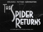 The Spider Returns--titles