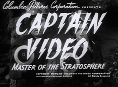 Captain Video--titles