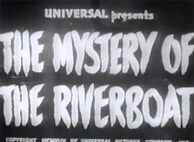 Mystery of the Riverboat--titles