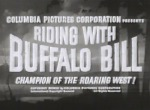 Riding with Buffalo Bill--titles