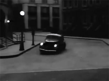 The Shadow--car on the streets
