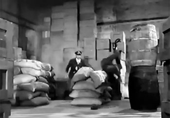 Blackhawk--warehouse fight