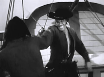 Great Adventures of Captain Kidd--duel with Murray
