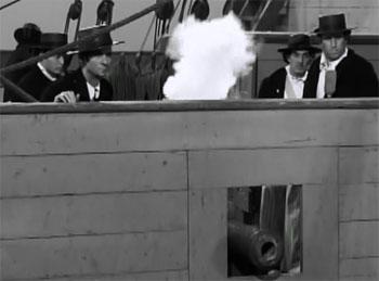 Great Adventures of Captain Kidd--sea battle 1