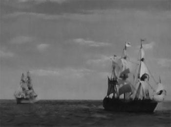 Great Adventures of Captain Kidd--sea battle 2