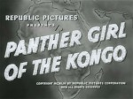 Panther Girl of the Kongo--titles