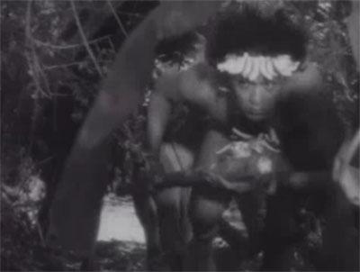 Return of Chandu--Cat Men in jungle
